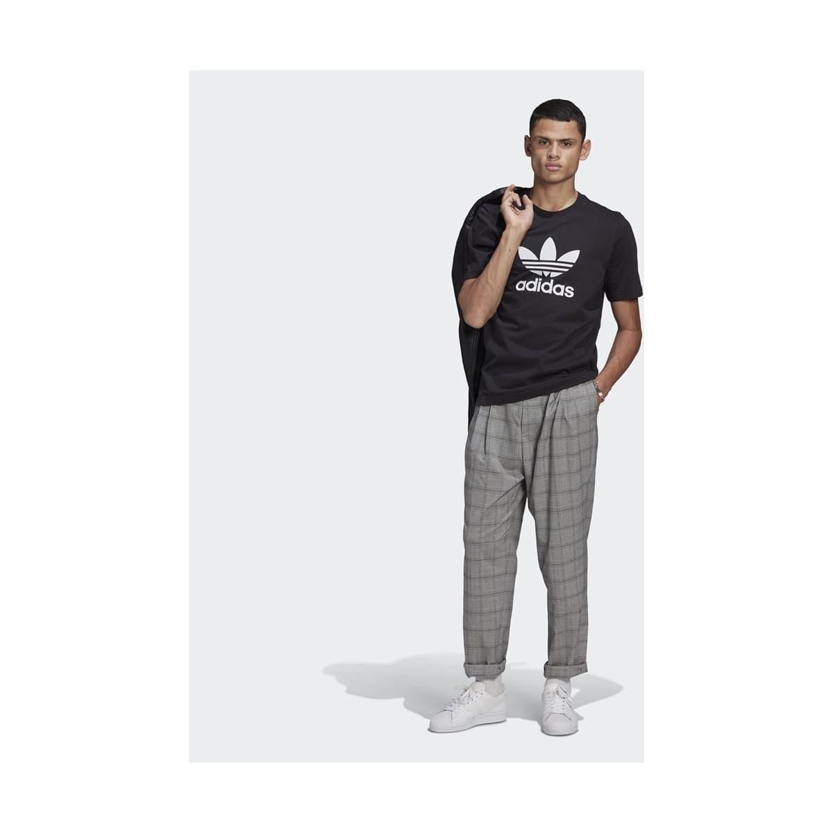 Adicolor Classics Trefoil Erkek Siyah Tişört (GN3462)