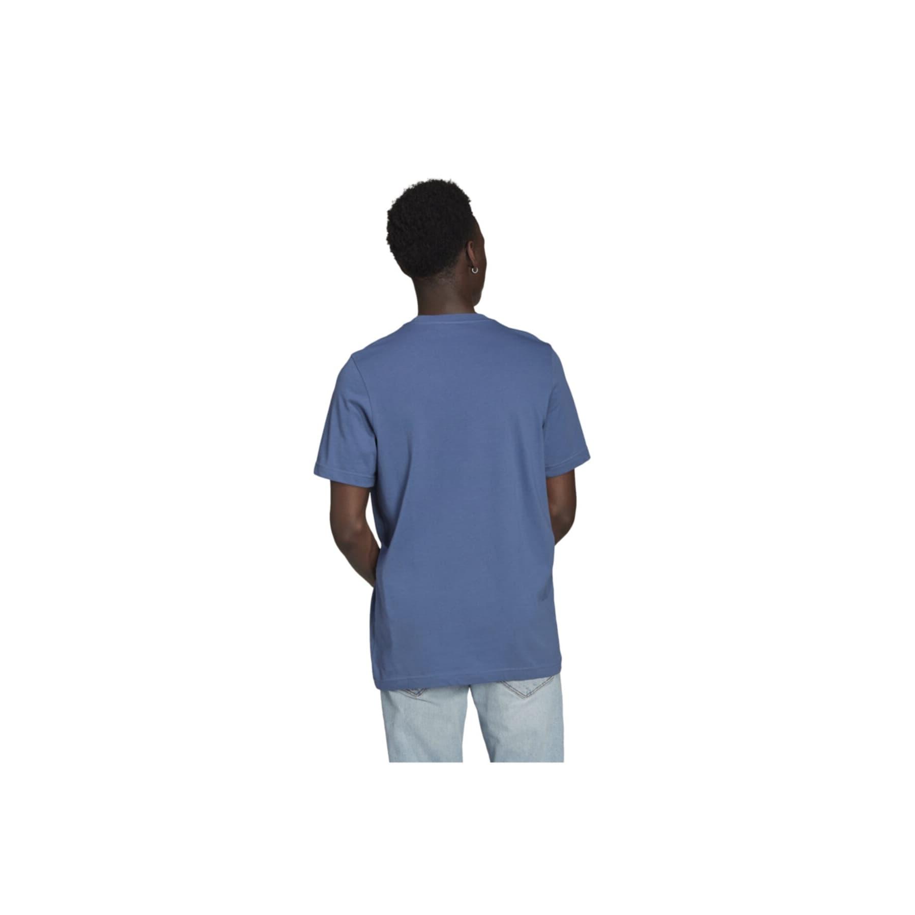 Adicolor Classics Trefoil Erkek Mavi Tişört (GN3467)