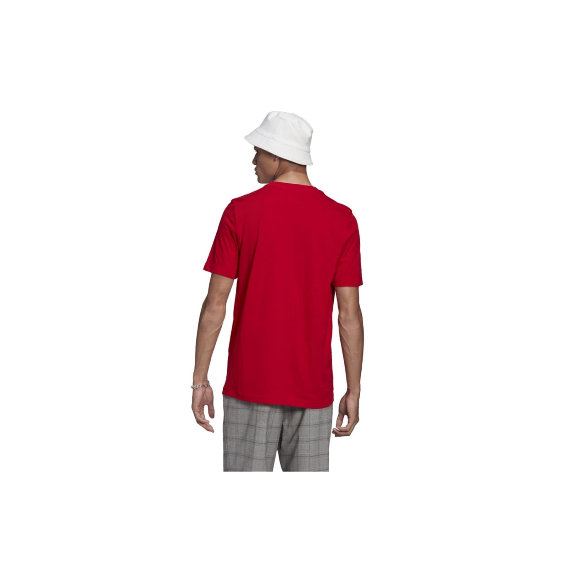 Adicolor Classics Trefoil Erkek Kırmızı Tişört (GN3468)