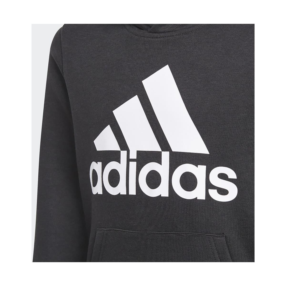 Essentials Kapüşonlu Çocuk Siyah Sweatshirt (GN4027)