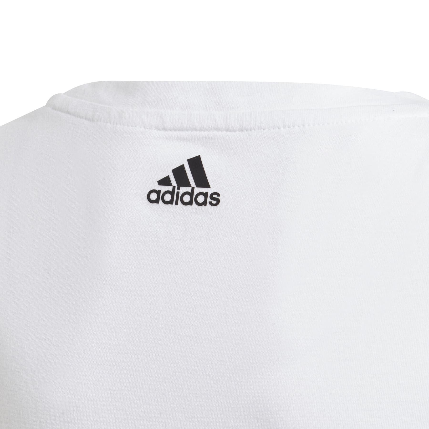 Essentials Çocuk Beyaz Spor Tişört (GN4045)