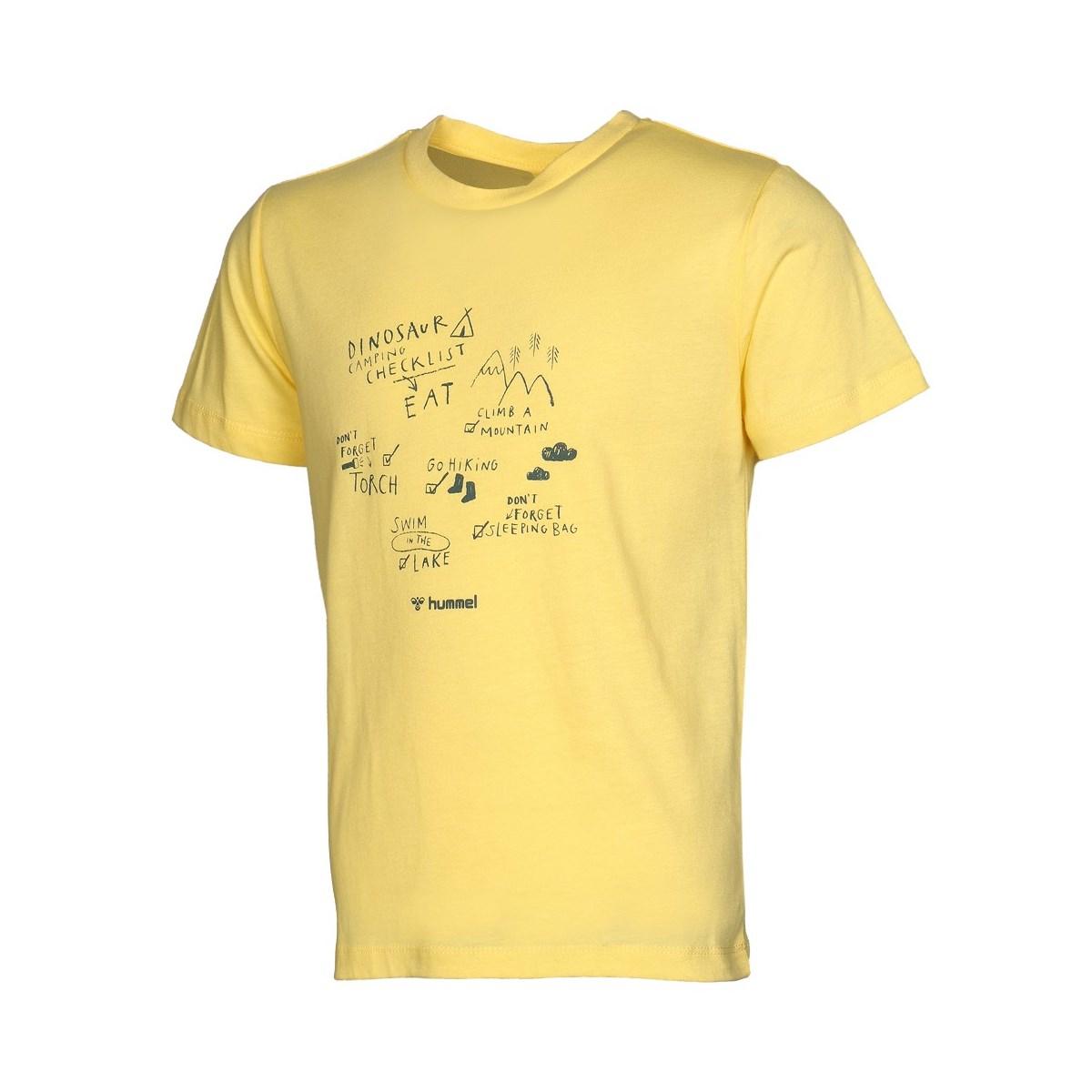 Damir Erkek Çocuk Sarı Tişört (910905-5072)