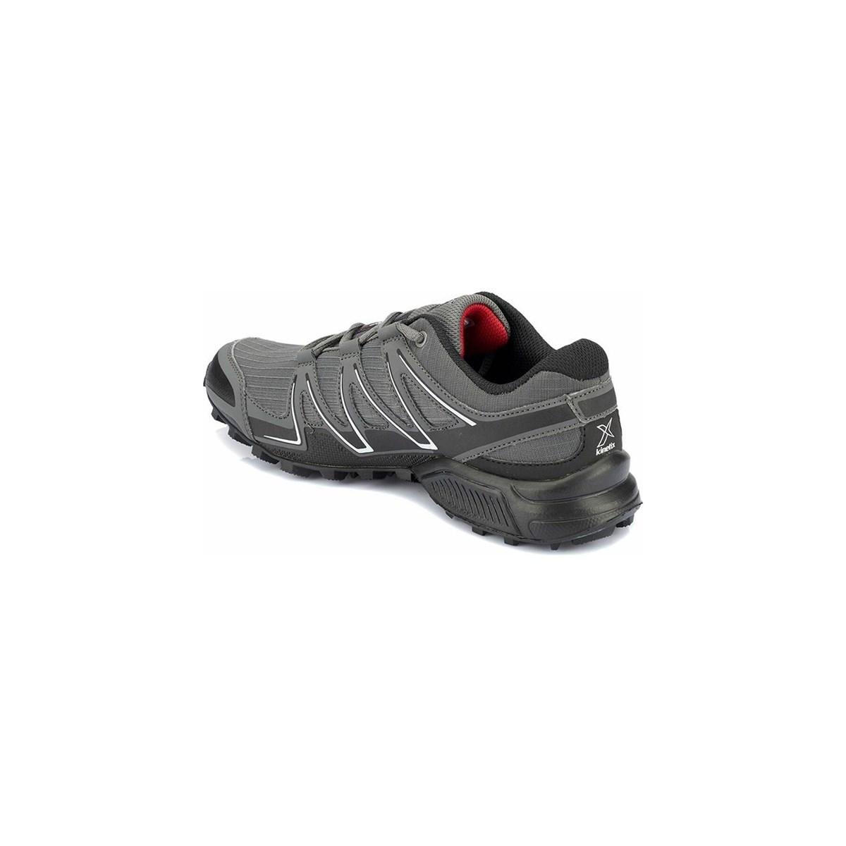 Cedric Erkek Siyah Kırmızı Outdoor Ayakkabı
