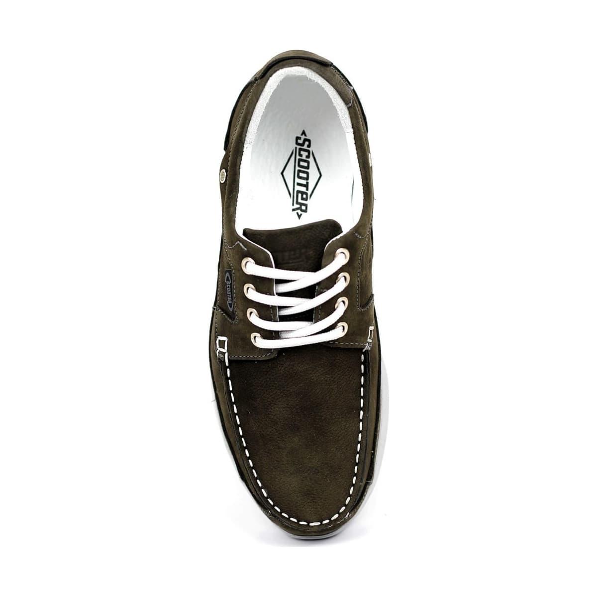 Erkek Yeşil Bağcıksız Casual Ayakkabı (M1098NA)