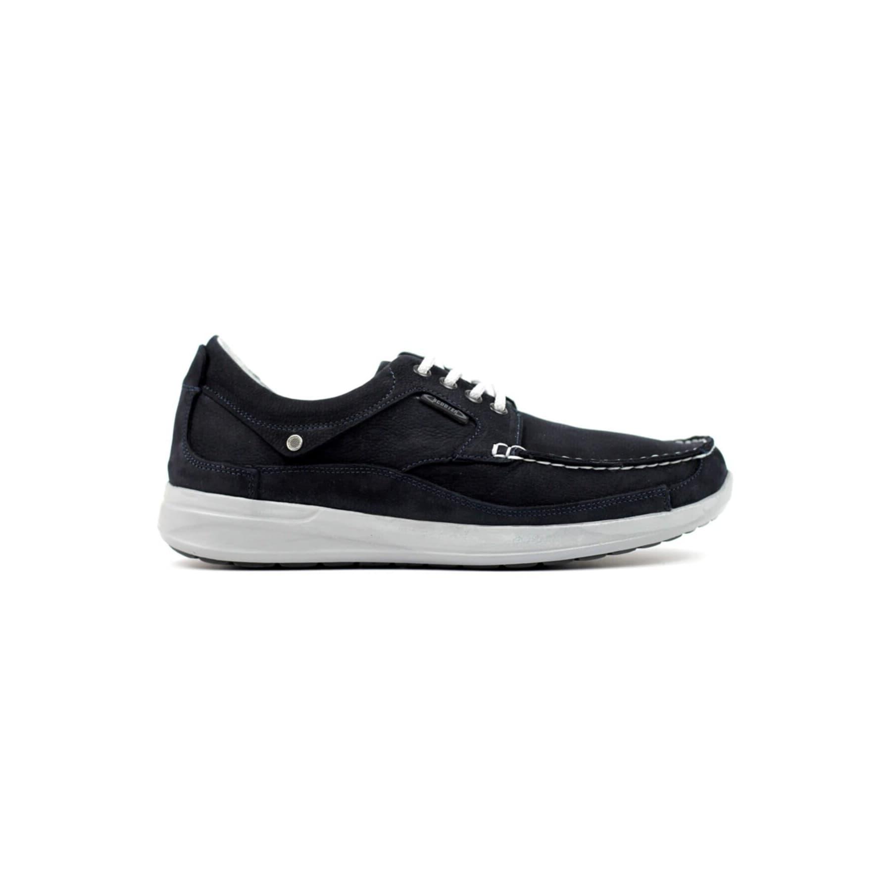 Erkek Siyah Bağcıksız Casual Ayakkabı (M1098NL)
