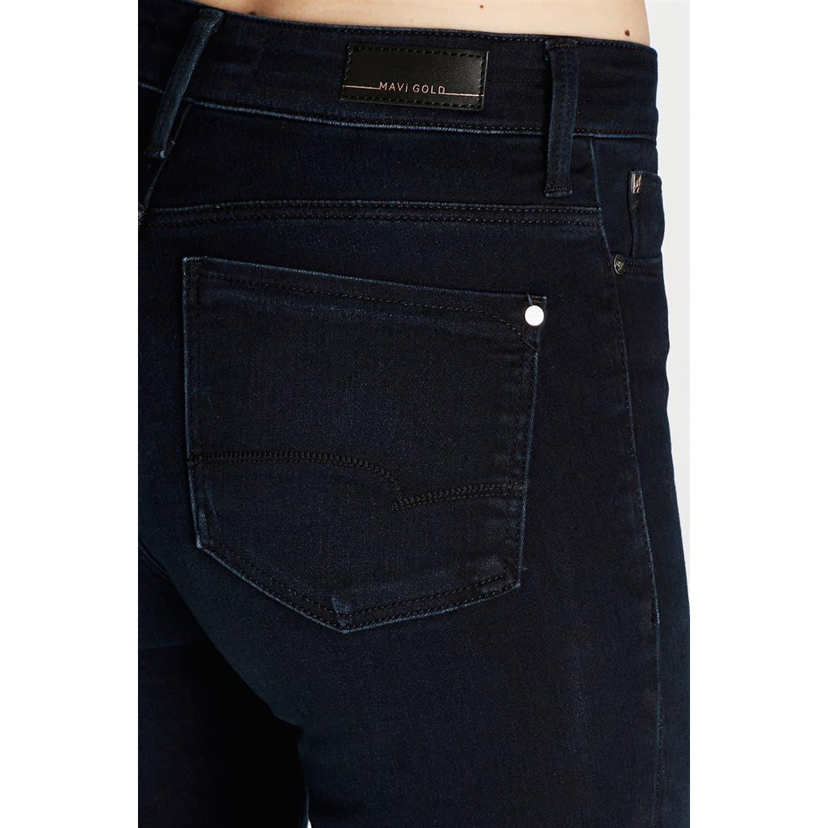 Alissa Gold Jean Kadın Lacivert Kot Pantolon