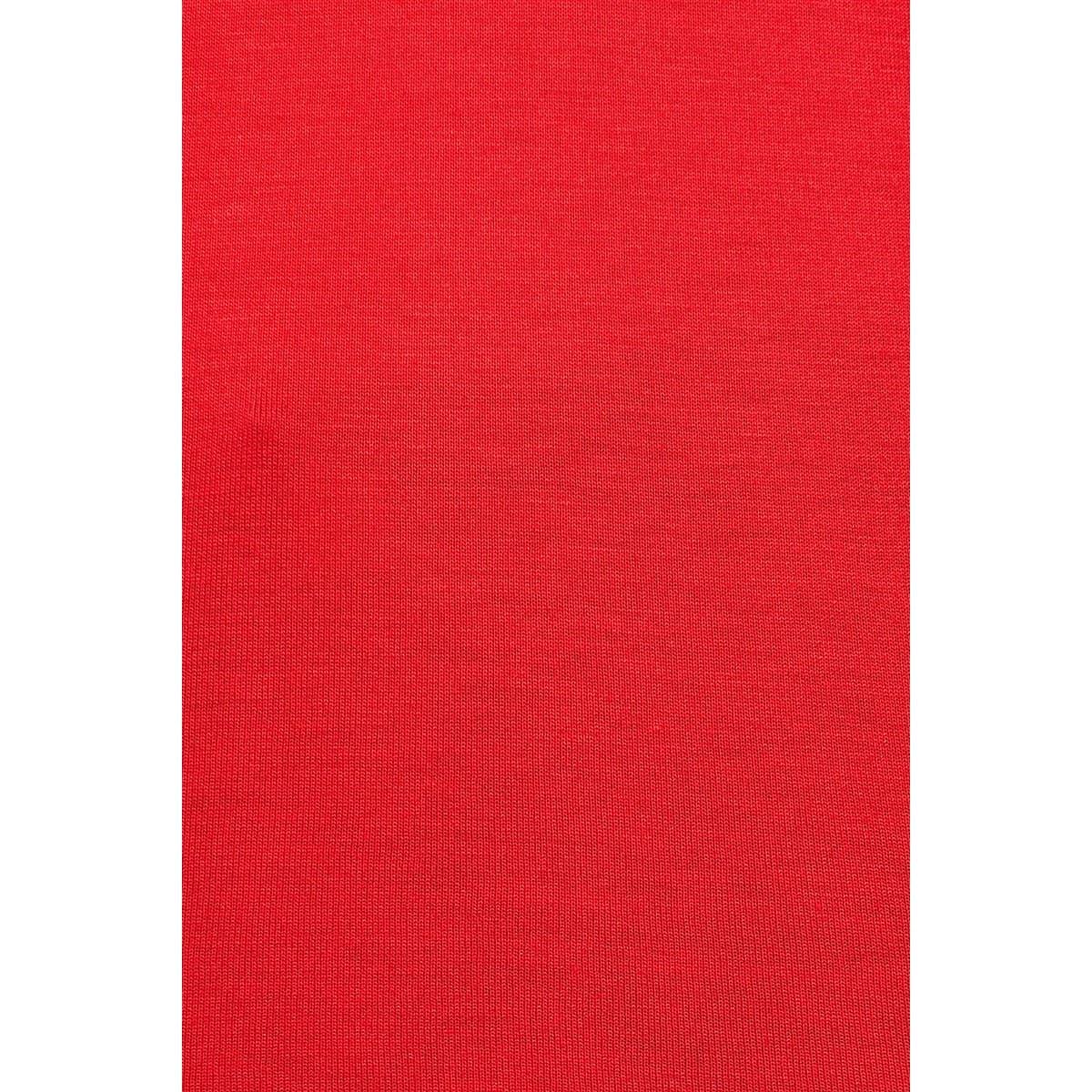 Kisa Kol Basic Penye Kırmızı