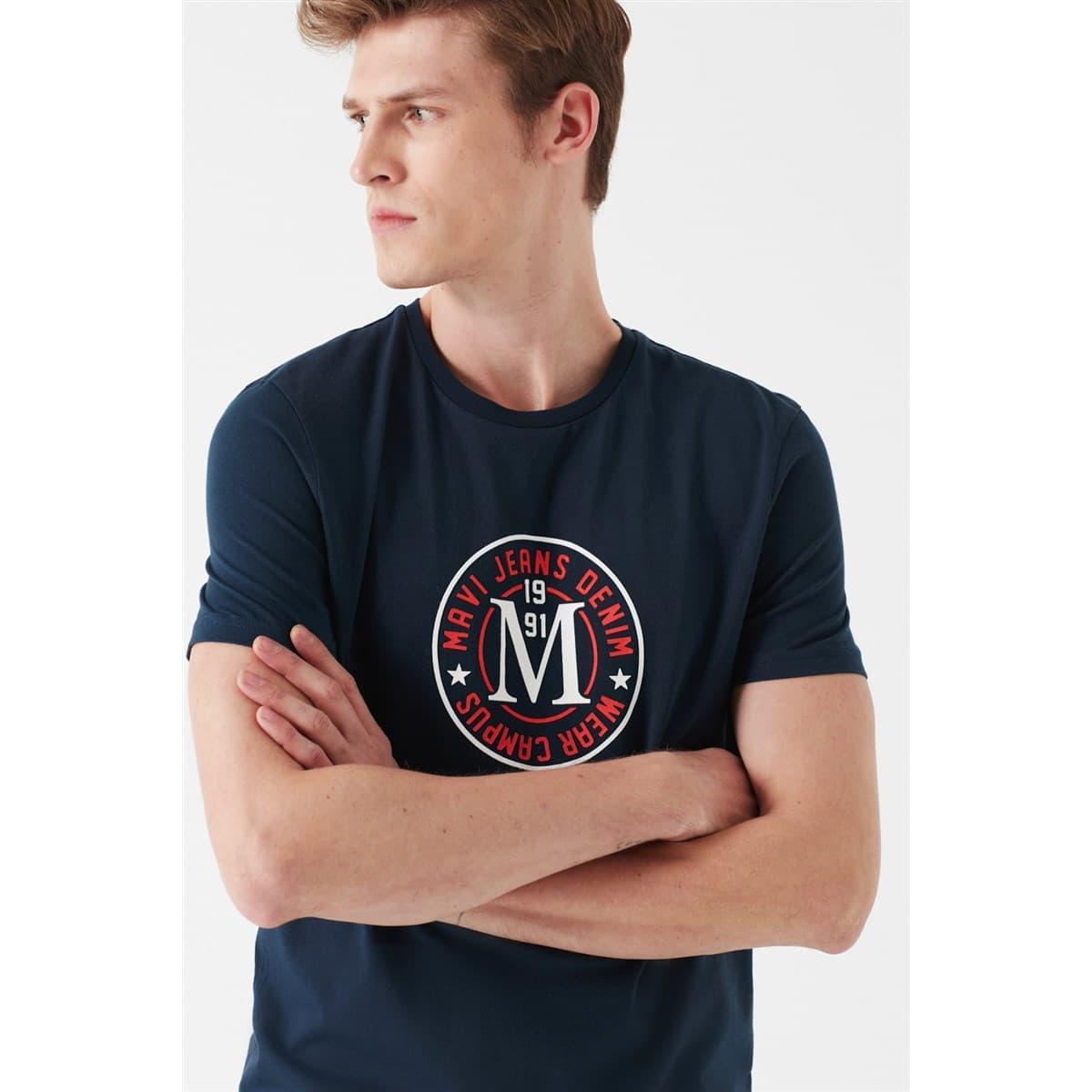 Campus Erkek Lacivert Tişört
