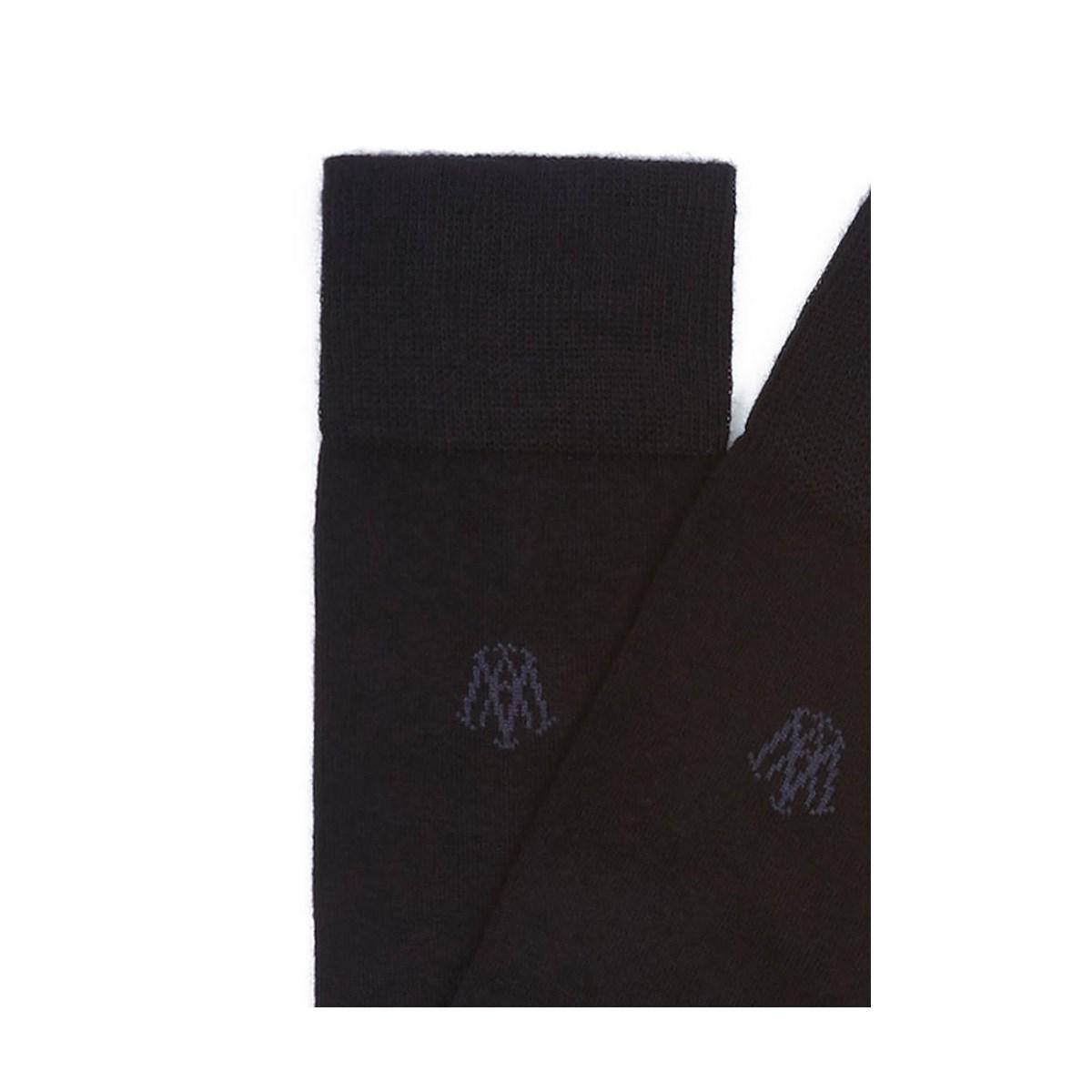 Kadın Siyah Uzun Çorap (090250-26341)