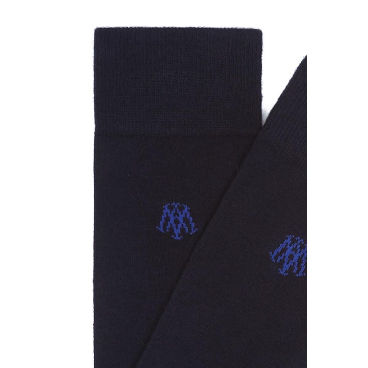 Lacivert Erkek Uzun Çorap (090250-26828)