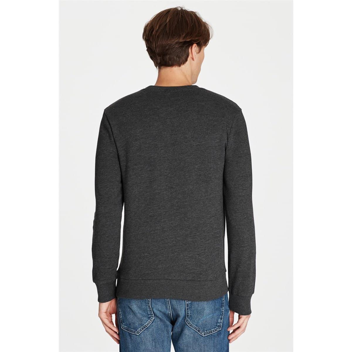 Mavi Jeans Future Baskılı Erkek Gri Sweatshirt