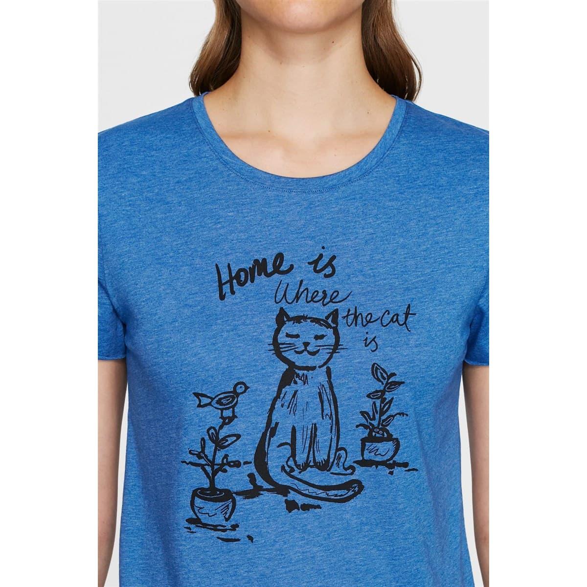 Home Is Where The Cat Is Baskili Penye Kobalt Mav