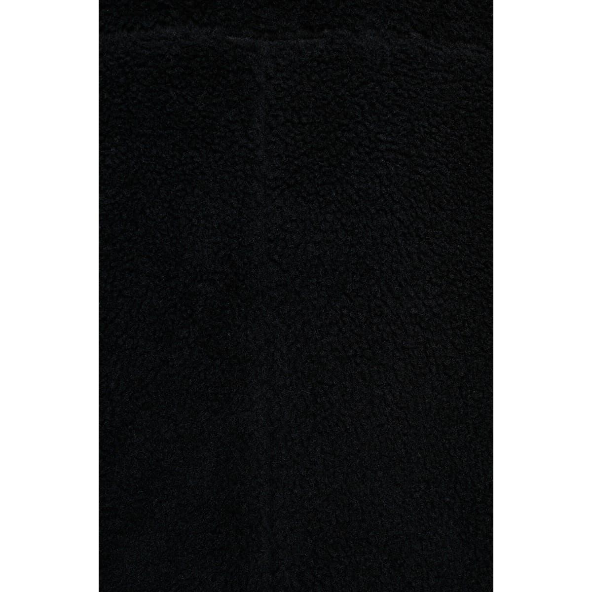 Suni Kürk Kadın Siyah Kaban (110358-900)