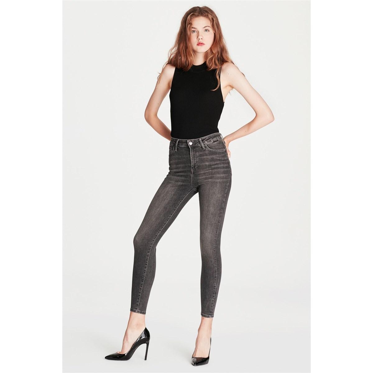 Mavi Jeans Serenay Kadın Gri Jean Pantolon