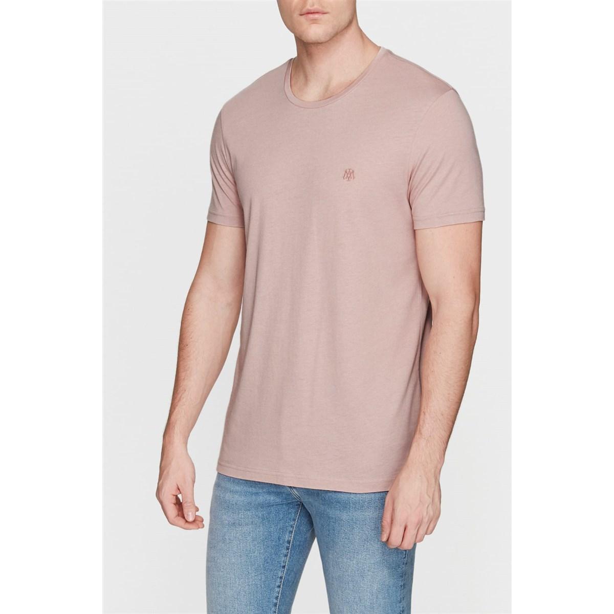 Tişört Soluk Gül Pembe