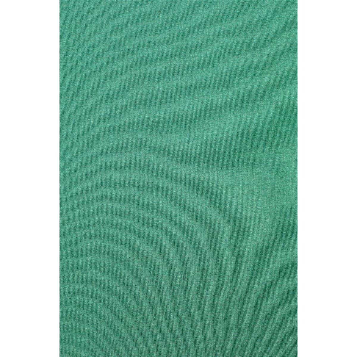 V Yaka Tişört Yonca Yeşili