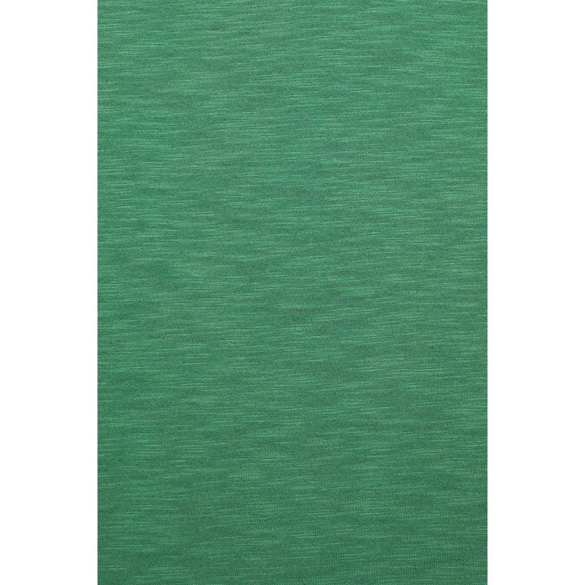 Yirtmaç Detayli Penye Yaprak Yeşili