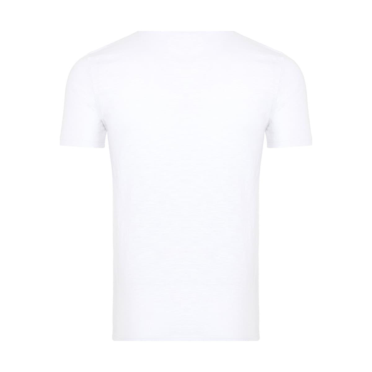 Graphic Erkek Beyaz Tişört (MPT1117-WT)