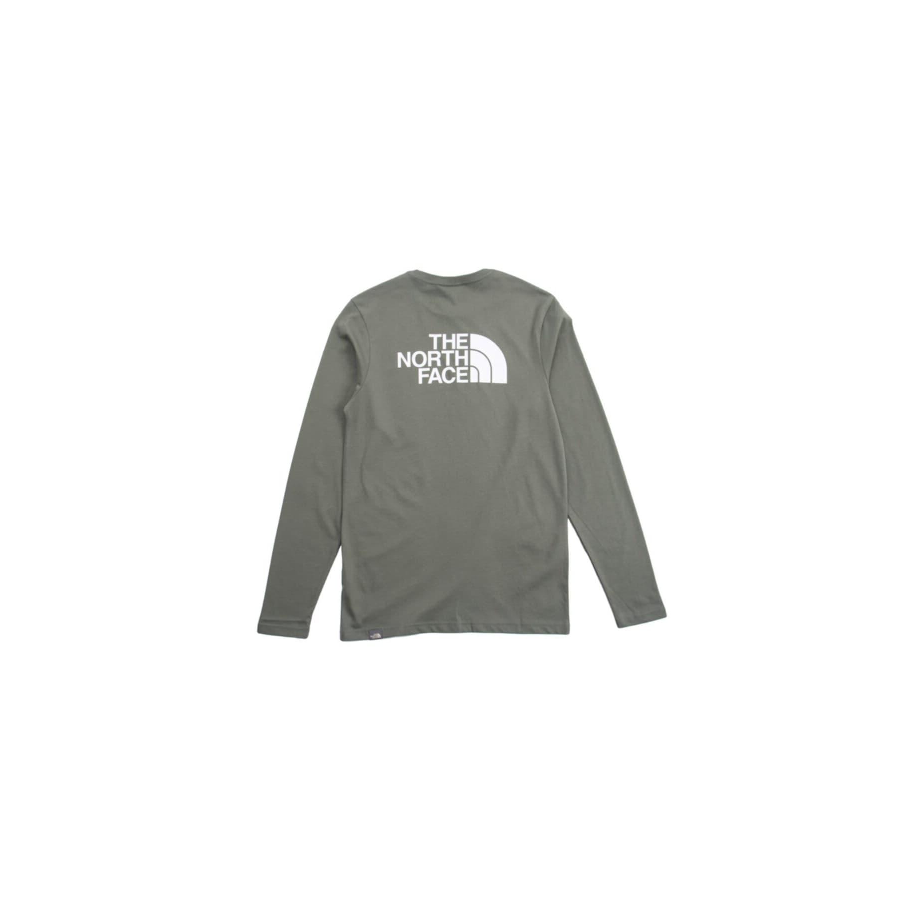 Easy Erkek Yeşil Uzun Kollu Tişört (NF0A2TX1V381)