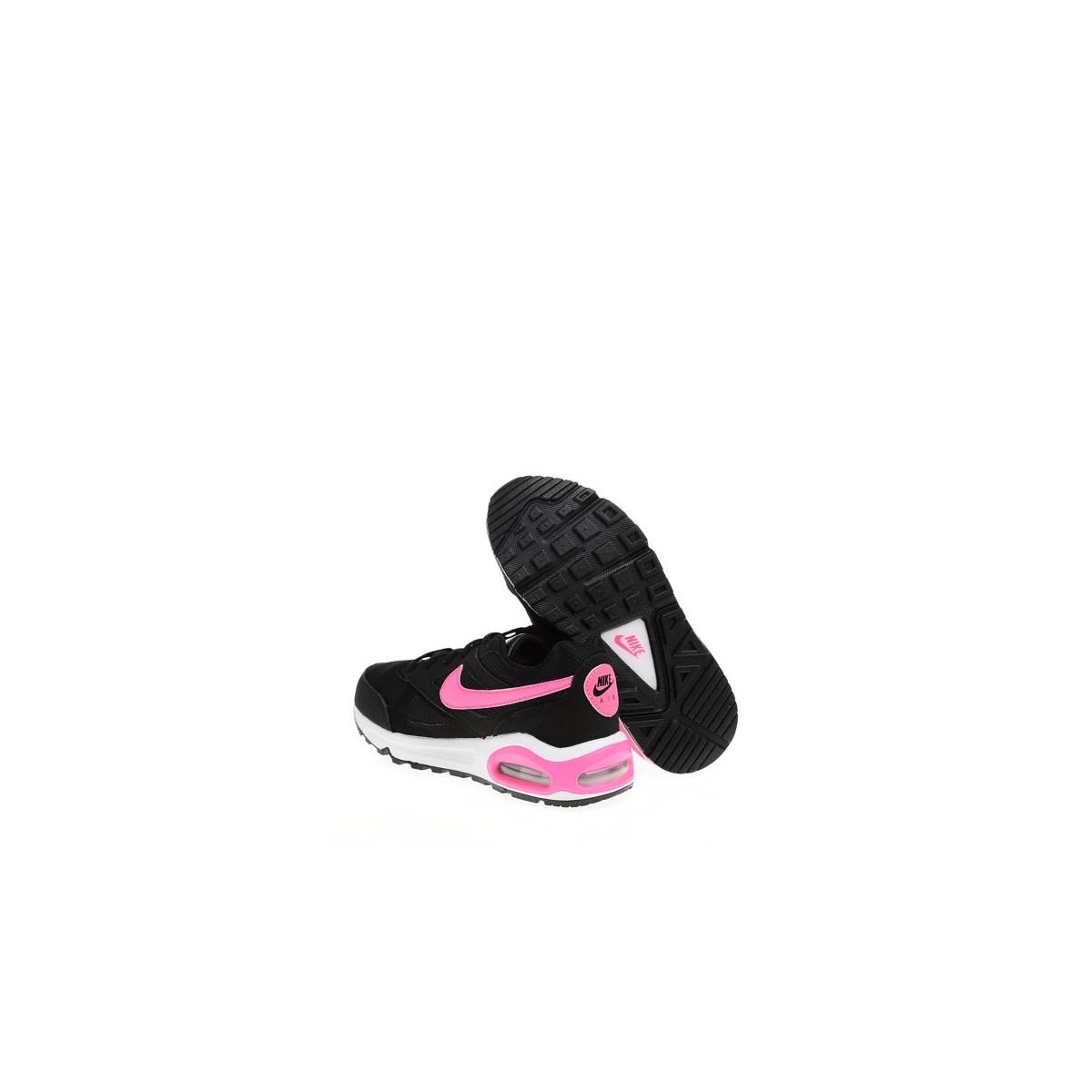 Air Max İvo Siyah Pembe Spor Ayakkabı