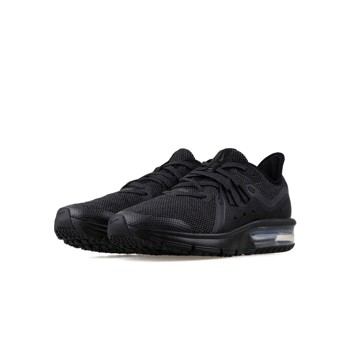 Air Max Sequent 3 Kadın Siyah Spor Ayakkabı