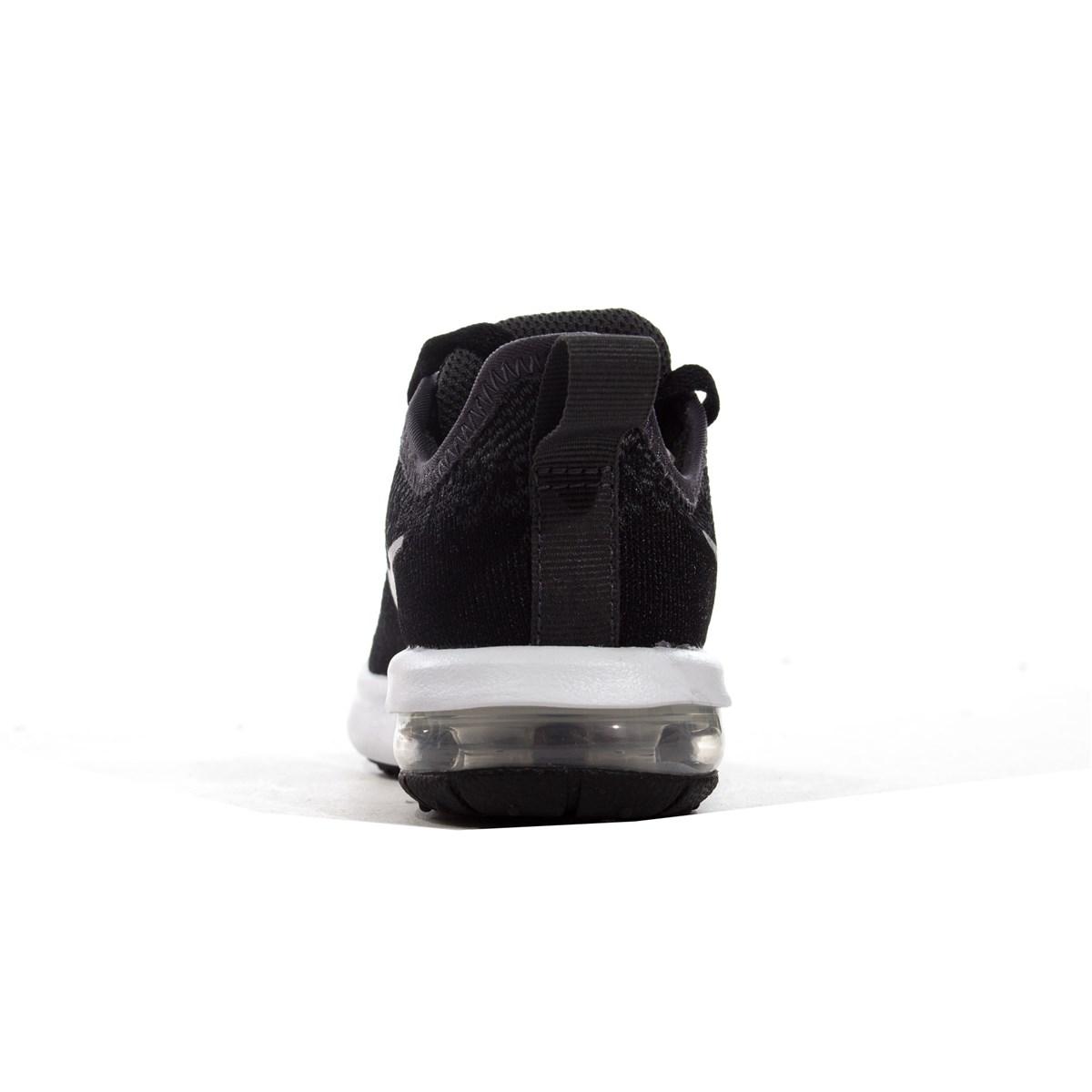 Air Max Sequent 4 Siyah Çocuk Koşu Ayakkabısı