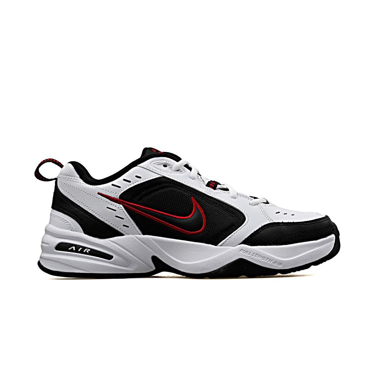 Air Monarch Erkek Siyah Beyaz Spor Ayakkabı