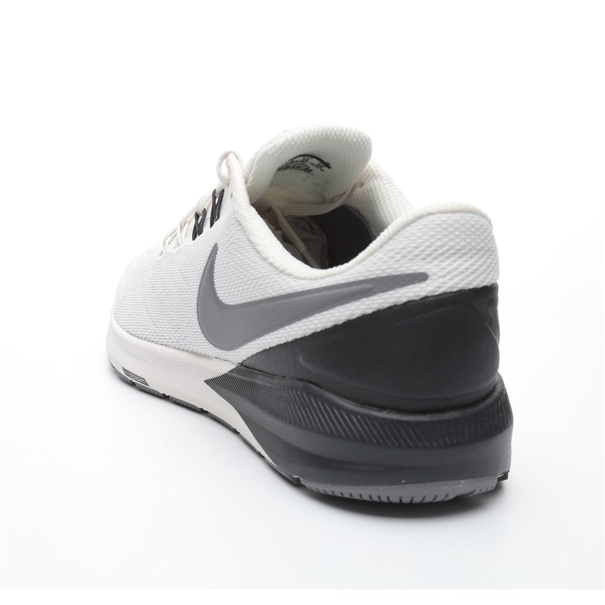 Air Zoom Structure 22 Gri Erkek Koşu Ayakkabısı