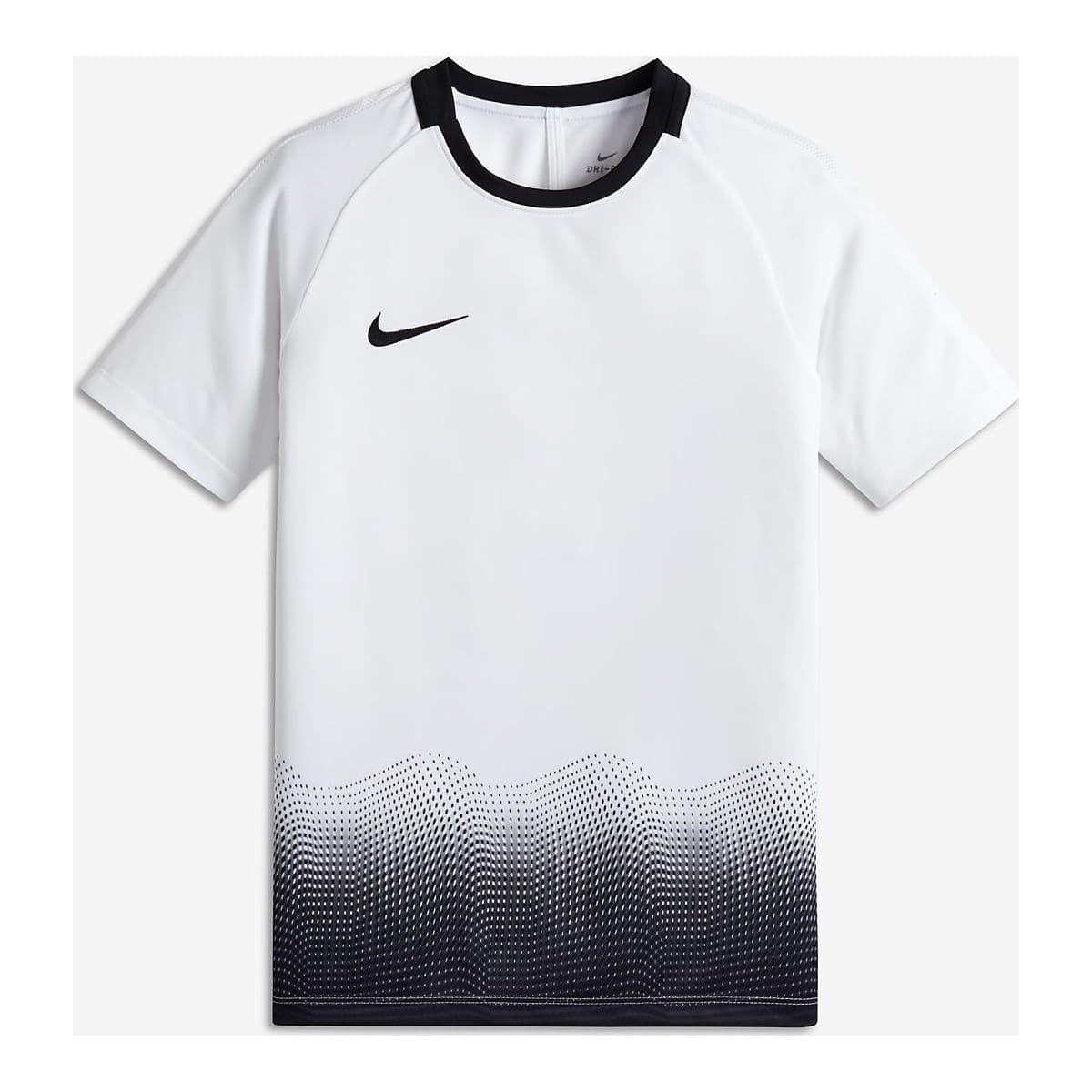 Academy Top Çocuk Beyaz Futbol Antrenman Tişörtü