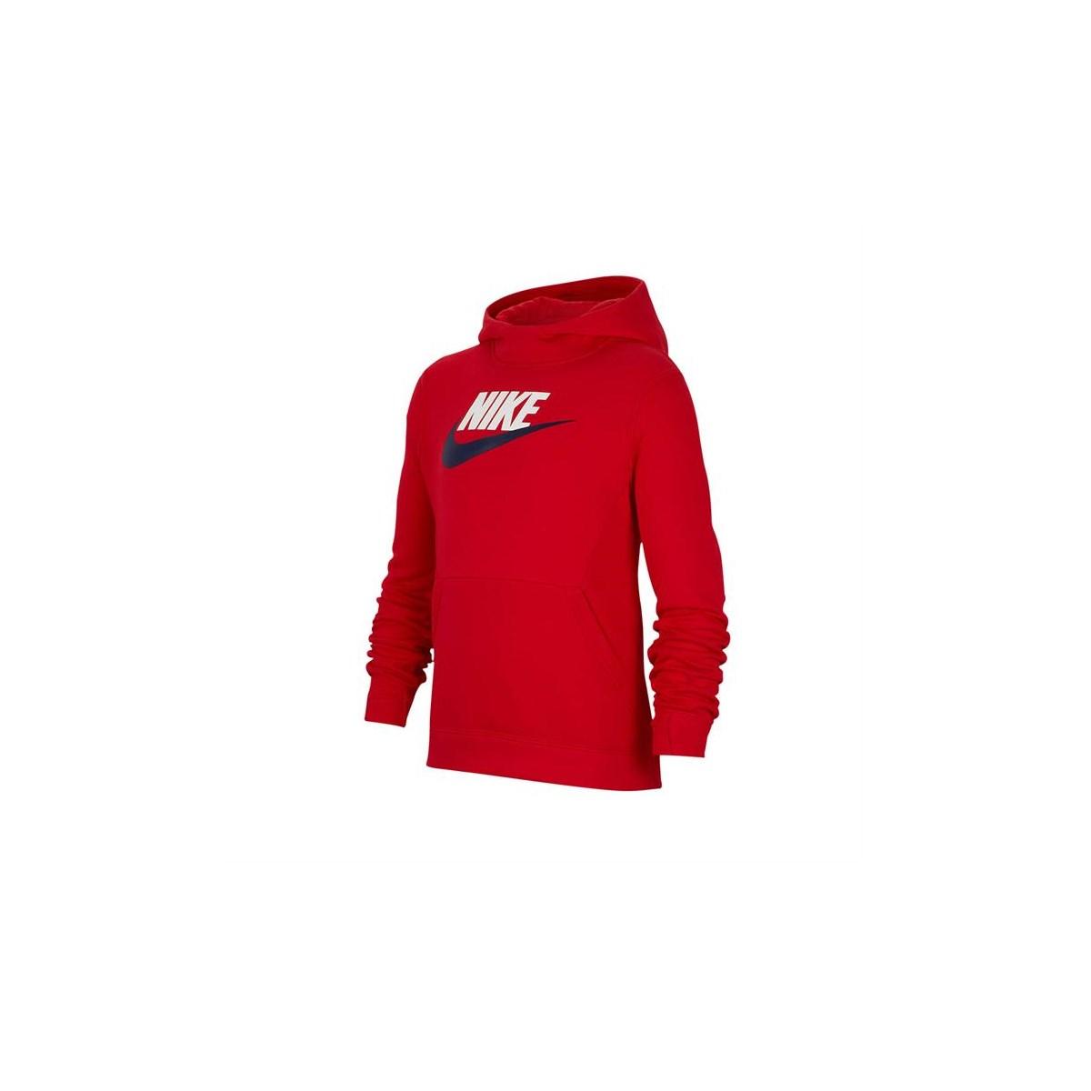 Hoodie Club Çocuk Kırmızı Sweatshirt