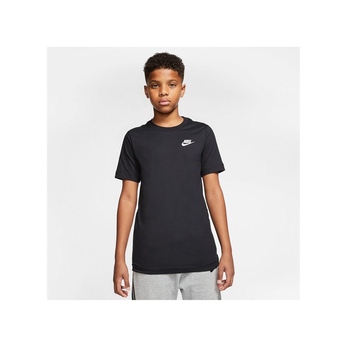 Emb Futura Çocuk Siyah Günlük Tişört