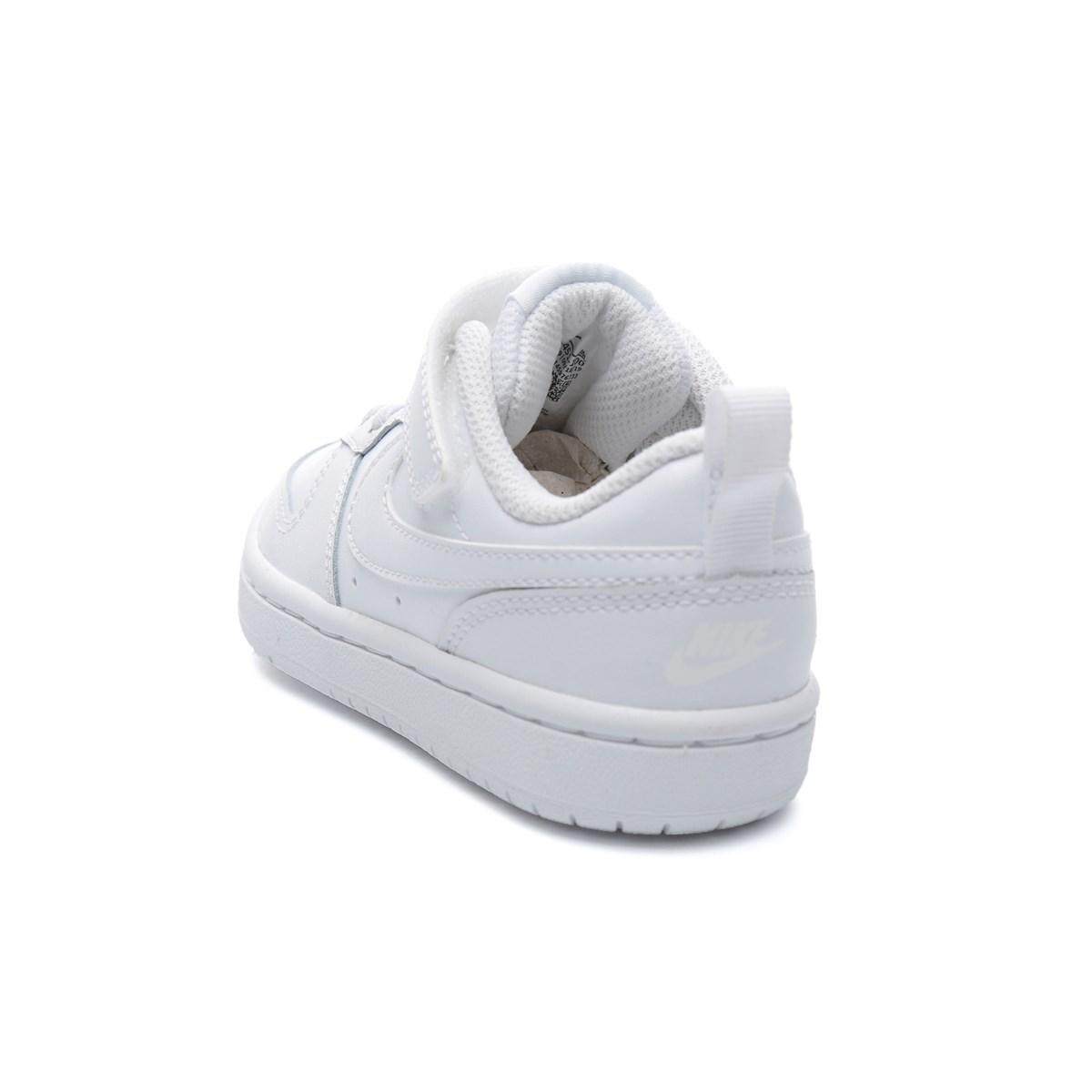 Court Borough Low 2 Beyaz Spor Ayakkabı (BQ5451-100)