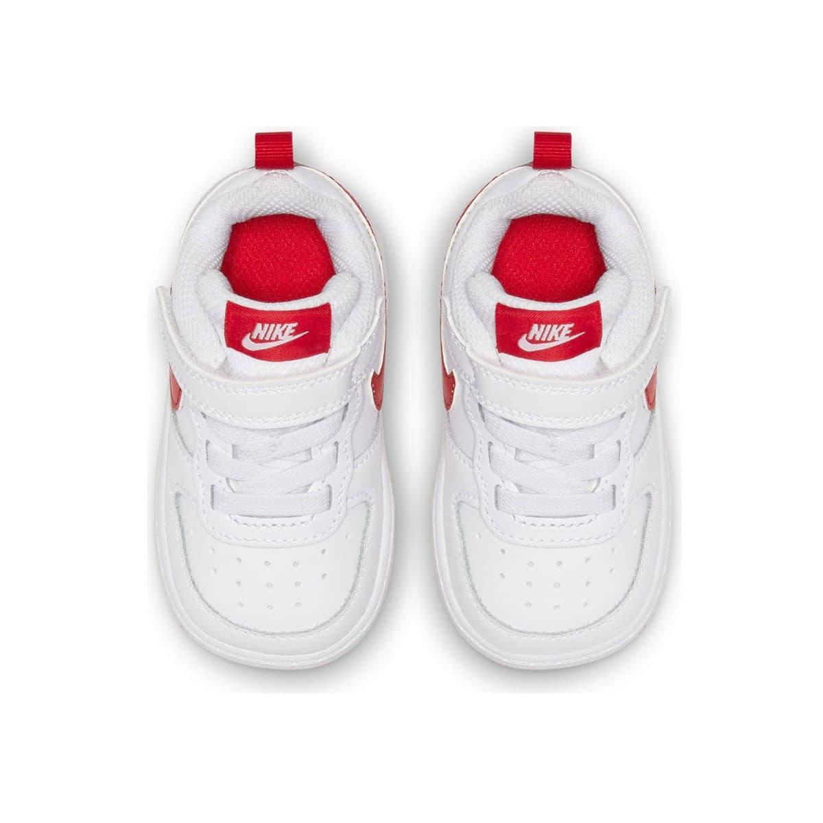 Court Borough Low 2 Bebek Beyaz Spor Ayakkabı (BQ5453-103)