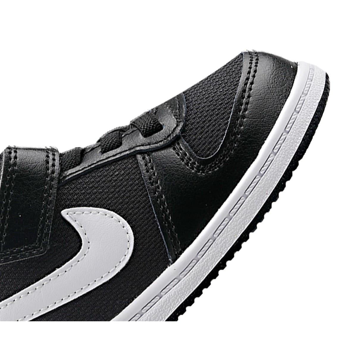 Court Borough Low Pe Çocuk Siyah Spor Ayakkabı (CD8515-002)
