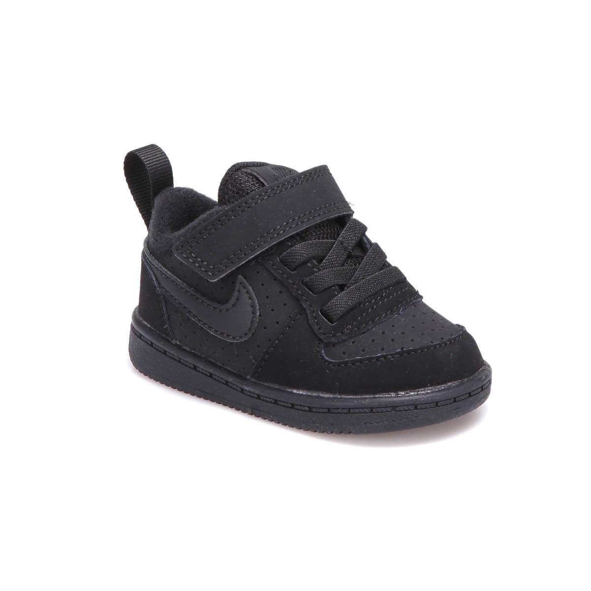 Court Borough Low Bebek Siyah Spor Ayakkabı