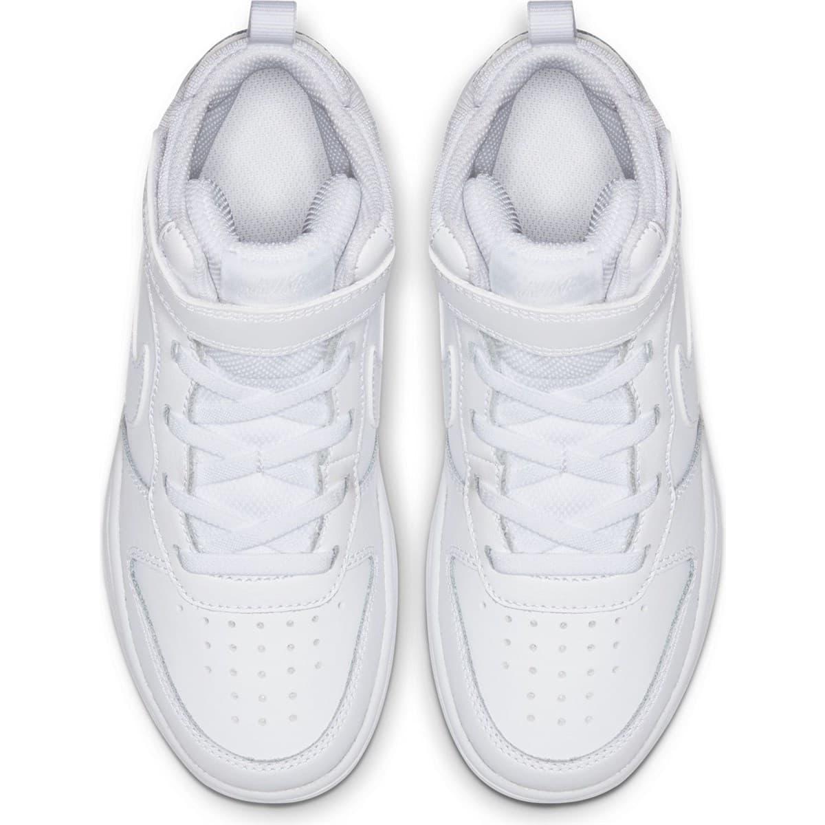 Court Borough Mid 2 Çocuk Beyaz Spor Ayakkabı (CD7783-100)