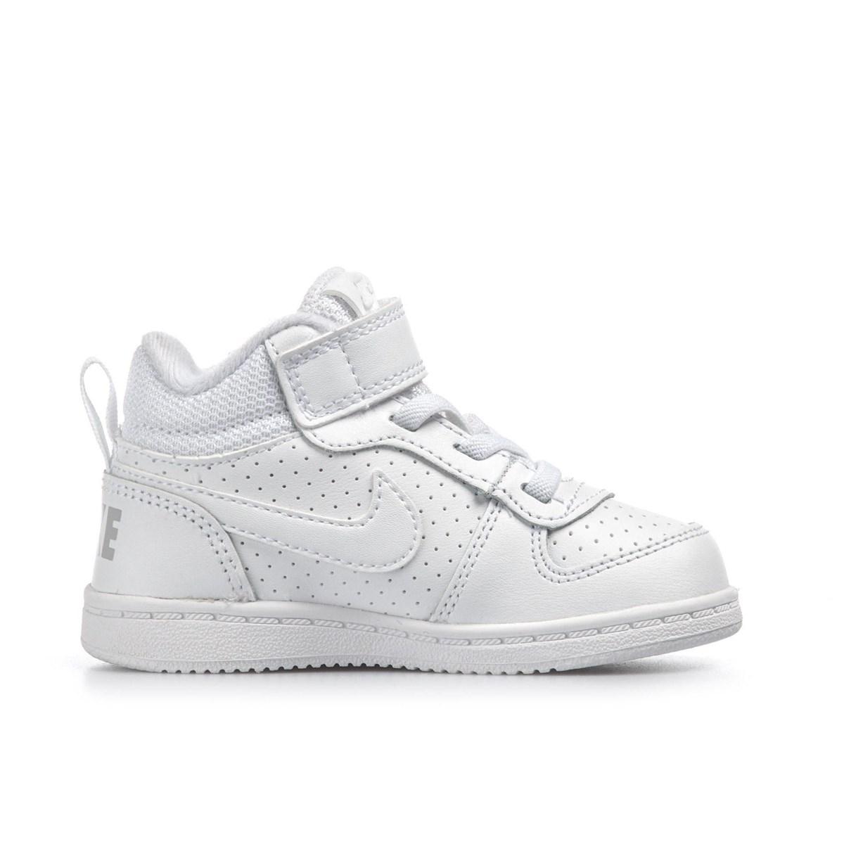 Court Borough Mid Çocuk Beyaz Spor Ayakkabı (870027-100)