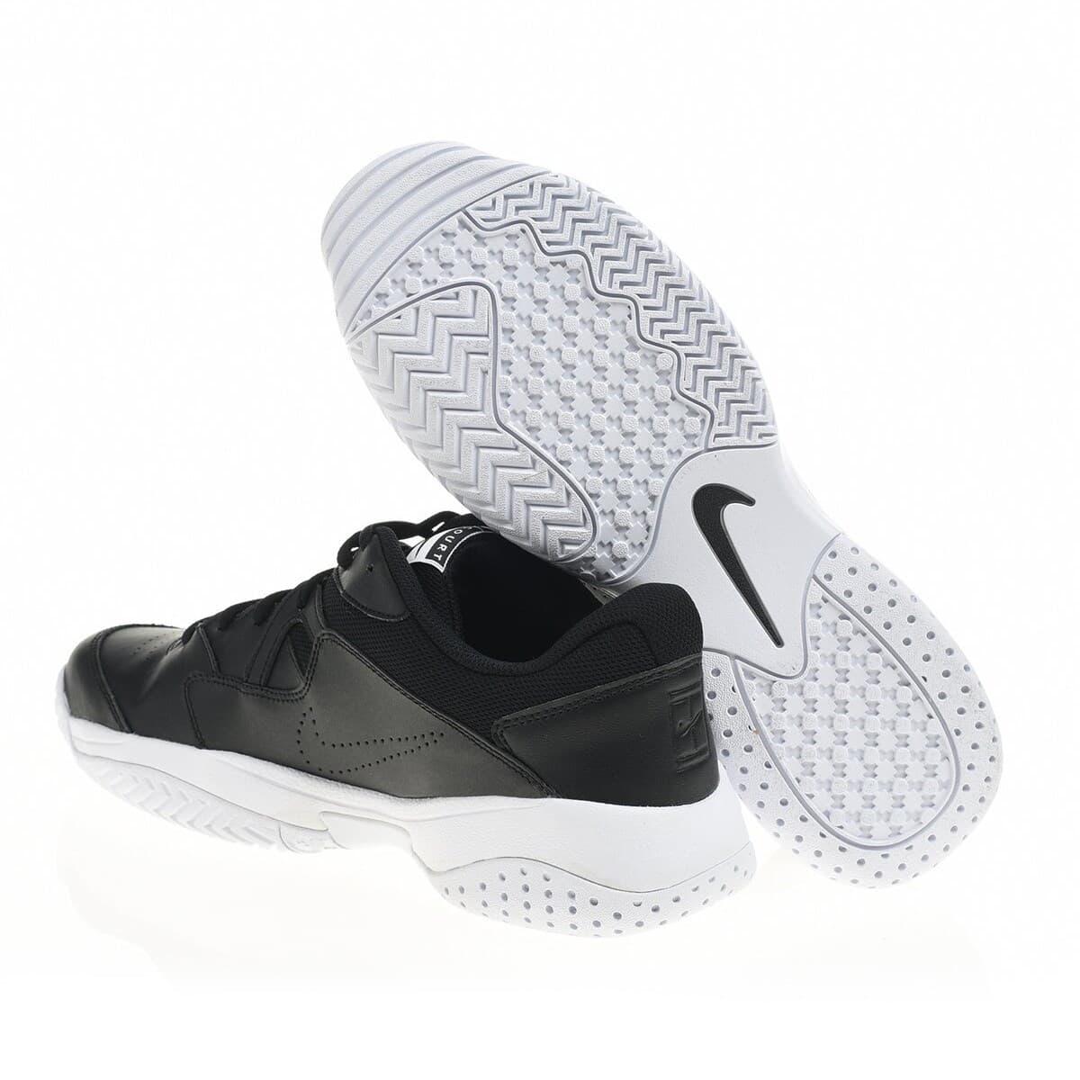 Court Lite 2 Erkek Siyah Tenis Ayakkabısı