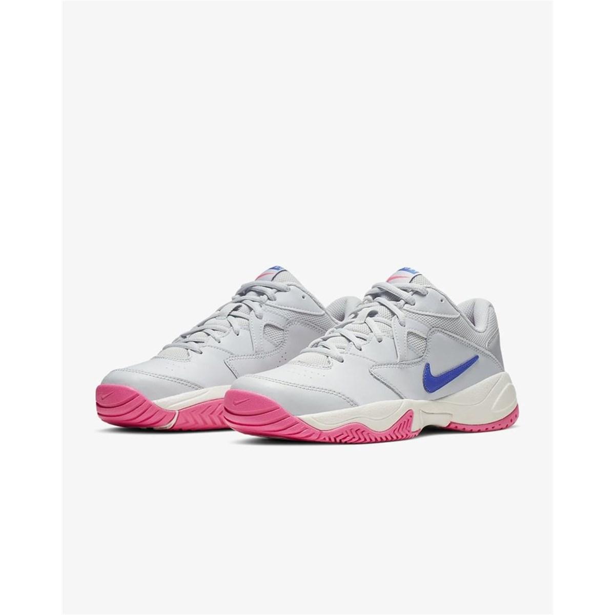 Court Lite 2 Kadın Gri Tenis Ayakkabısı