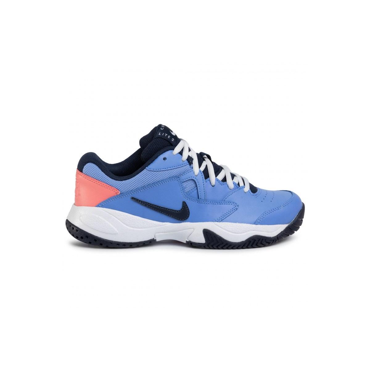 Court Lite 2 Kadın Mavi Spor Ayakkabı (AR8838-406)