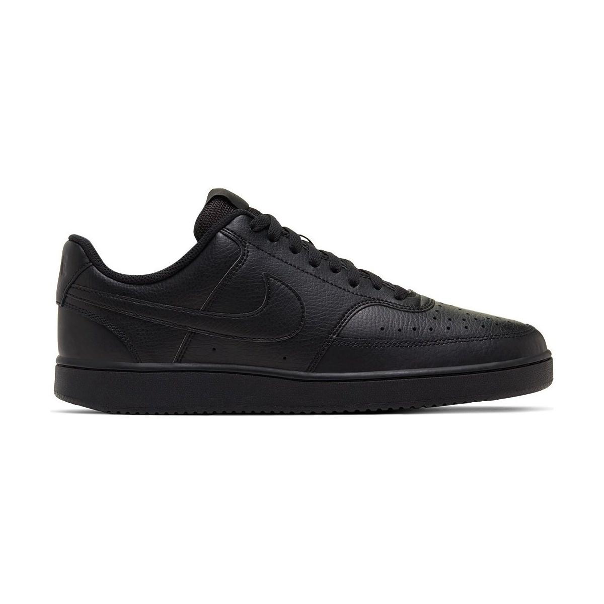 Court Vision Lo Erkek Siyah Sneaker