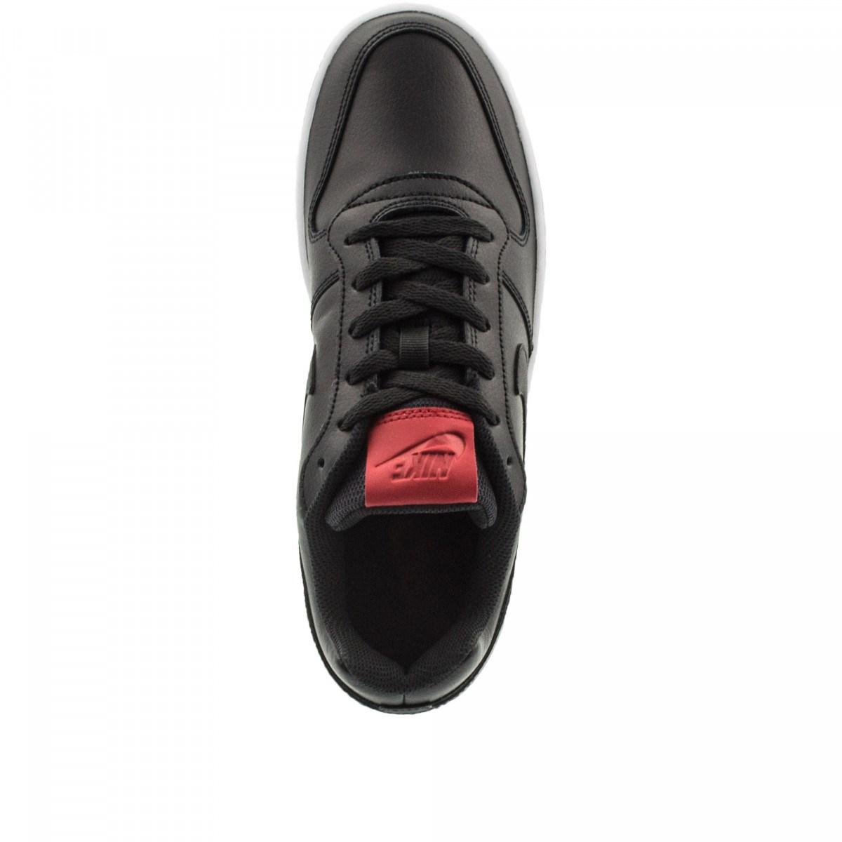 Ebernon Low Erkek Siyah Sneaker (AQ1775-001)