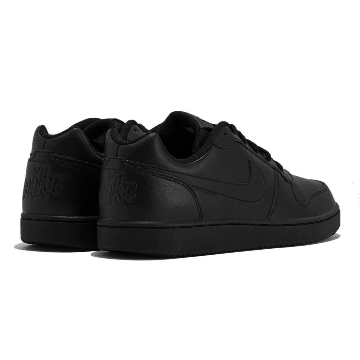 Ebernon Low Erkek Siyah Sneaker (AQ1775-003)