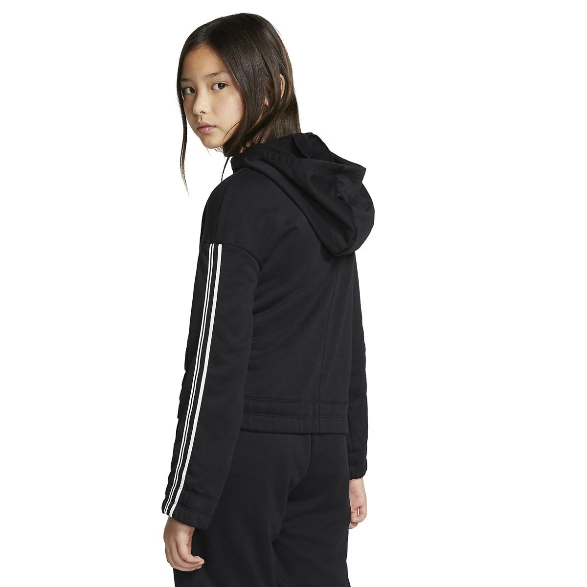 Studio Full Zip Çocuk Siyah Sweatshirt (BV2792-010)