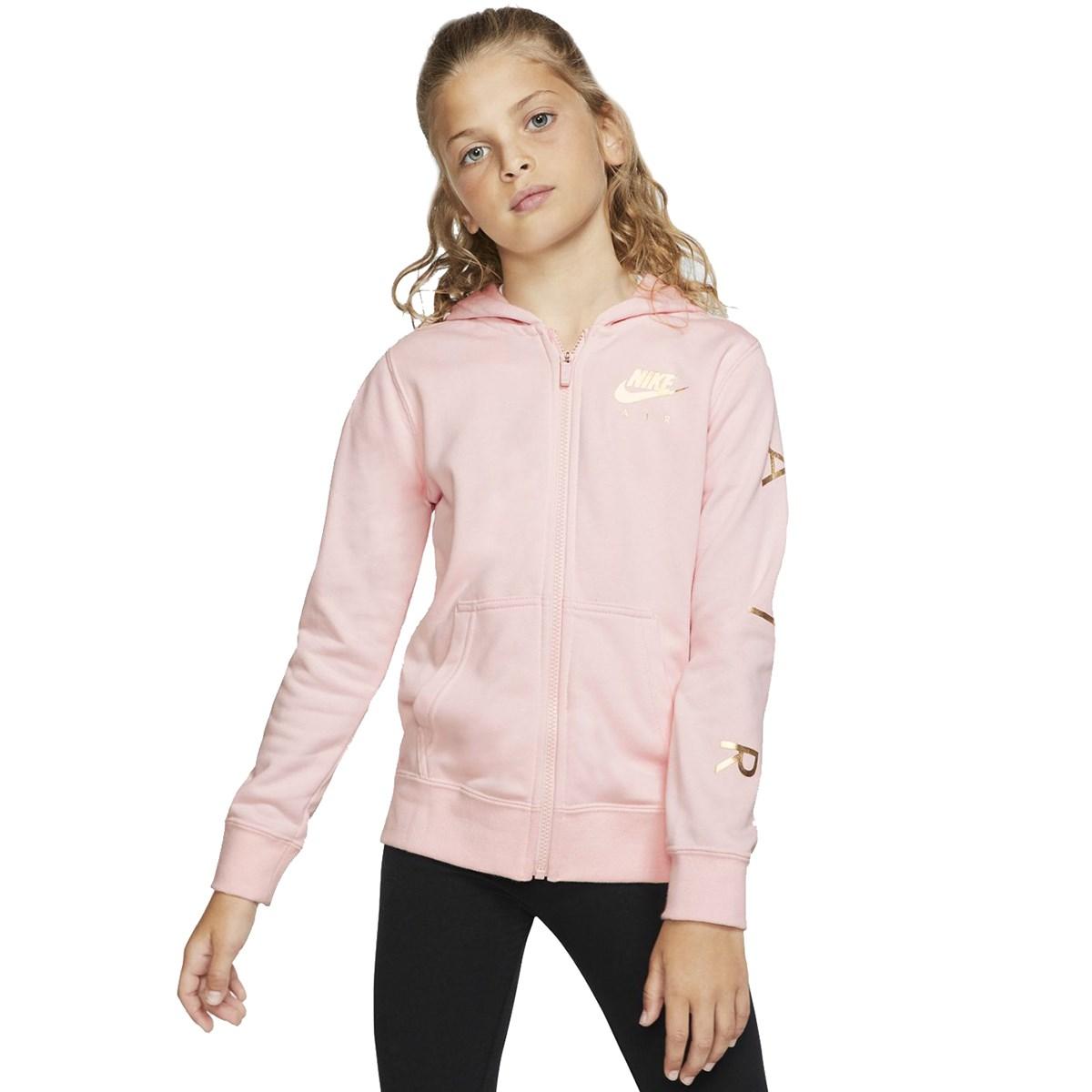 Air Sportswear Fleece Çocuk Pembe Sweatshirt (BV2757-682)