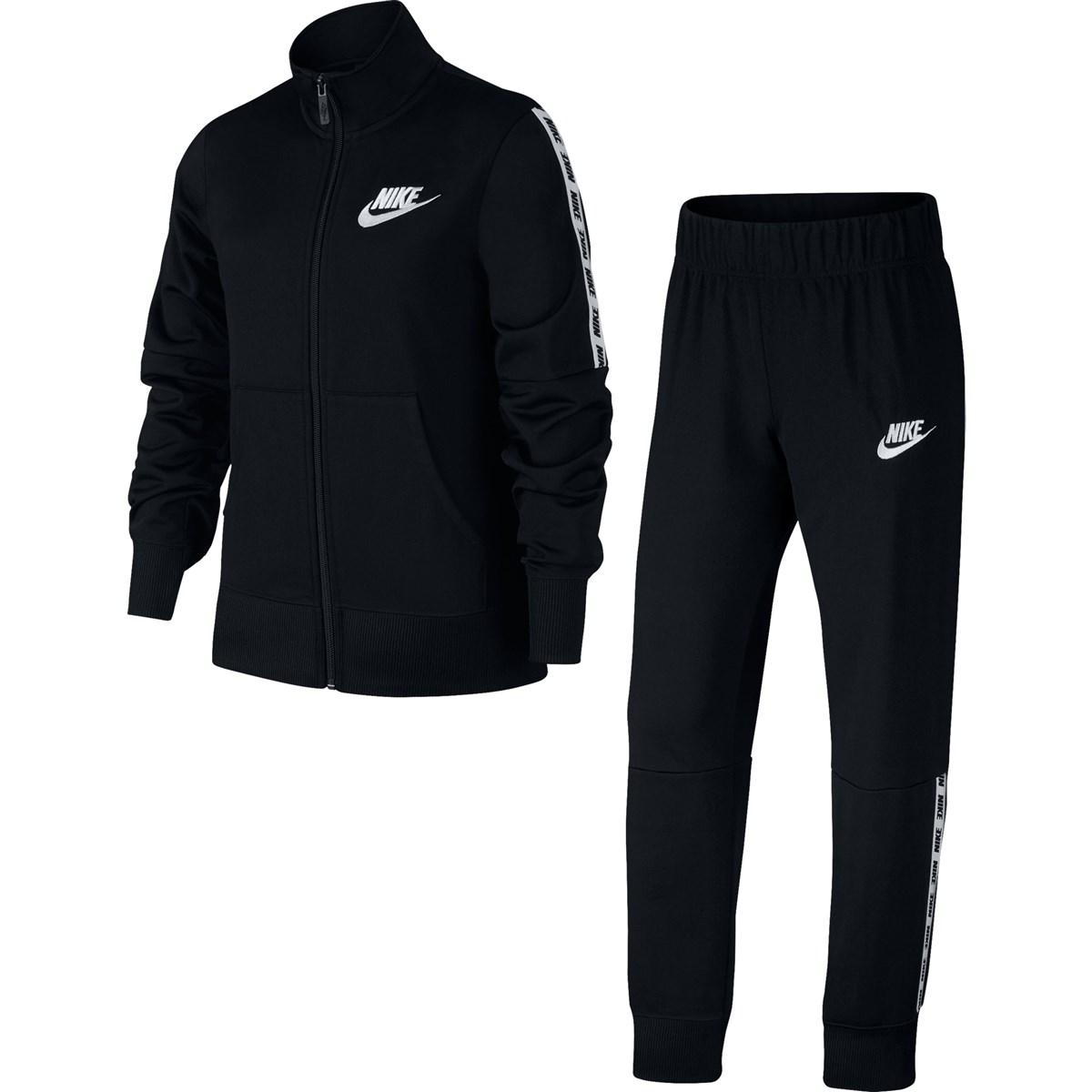 Sportwear Tricot Çocuk Siyah Eşofman Takımı (939456-010)