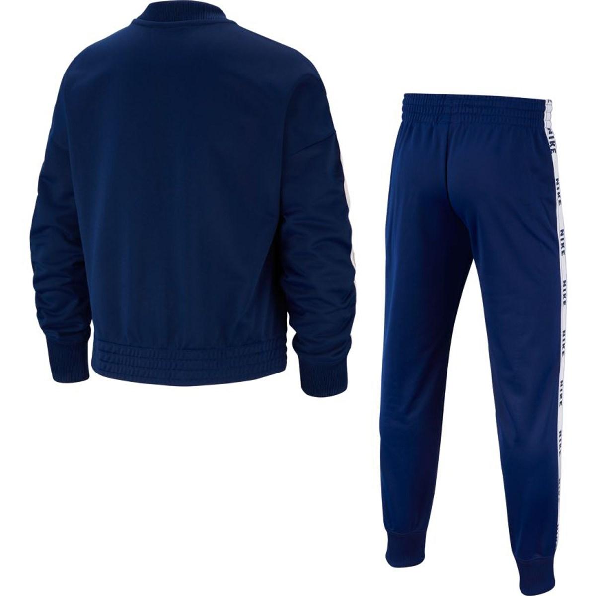 Sportwear Tricot Çocuk Mavi Eşofman Takımı (BV2769-492)