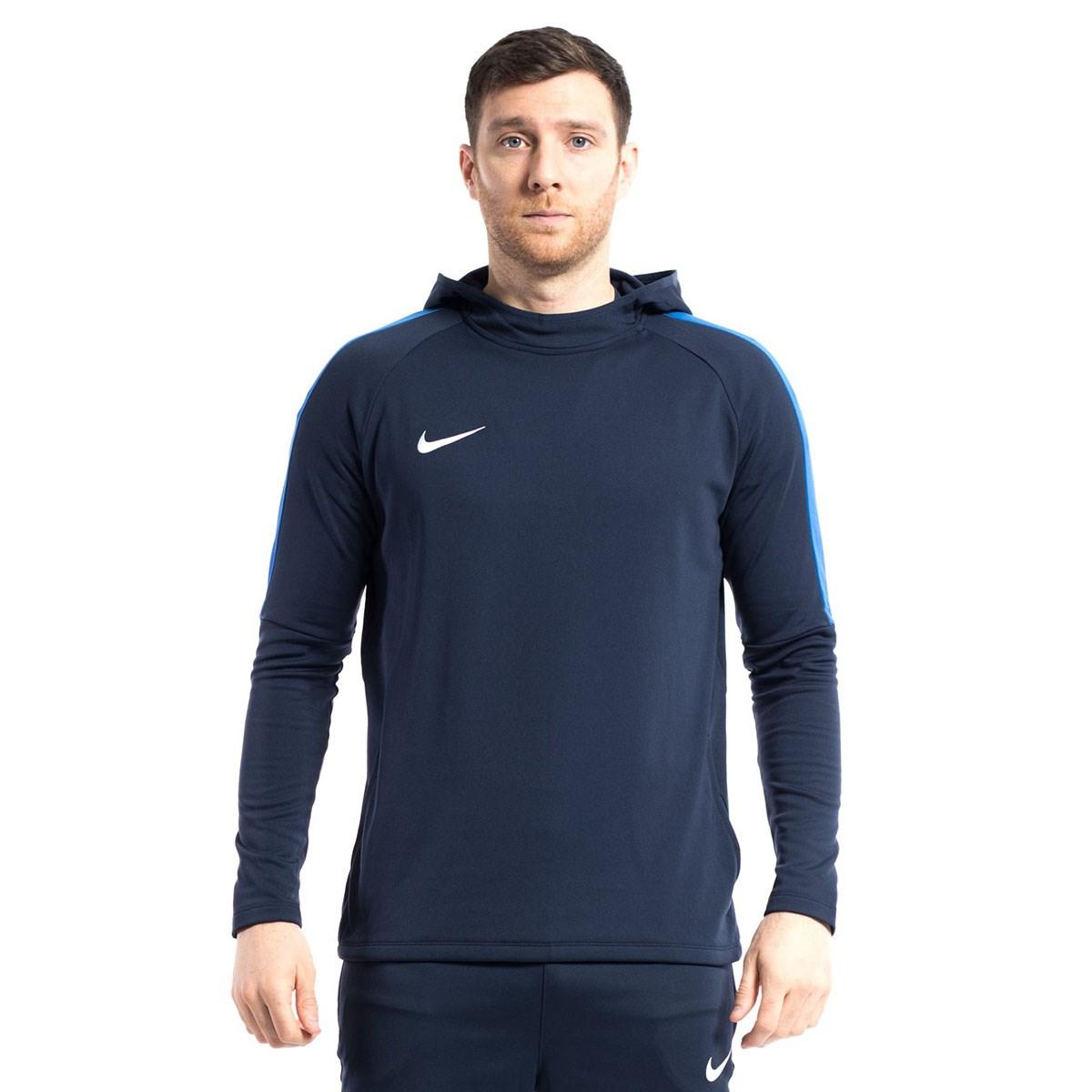 Dry Academy 18 Erkek Lacivert Kapüşonlu Sweatshirt