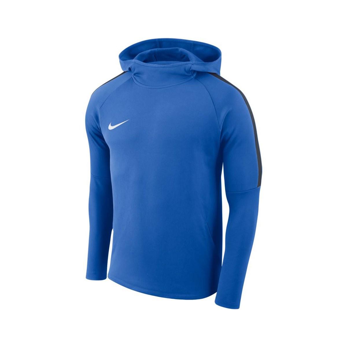 Dry Academy 18 Kapüşonlu Erkek Mavi Sweatshirt