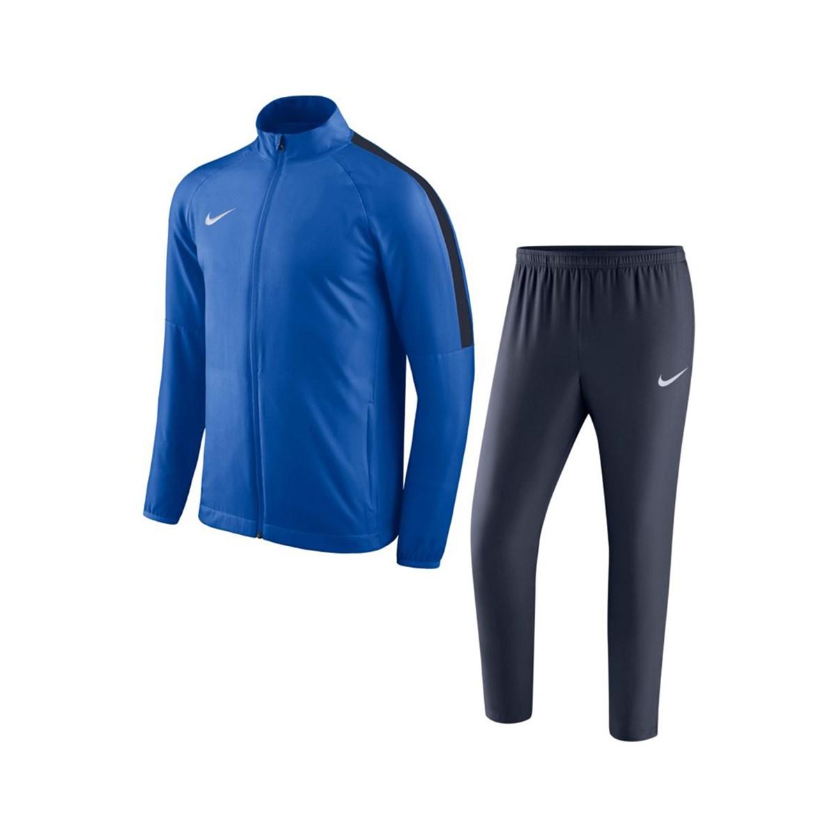 Dry Academy 18 Trk Suit Erkek Mavi Eşofman Takımı (893709-463)